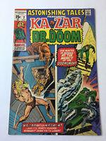 1970 Marvel Comics ASTONISHING TALES #2 ~ Ka-Zar And Dr. Doom ~ nice shape!