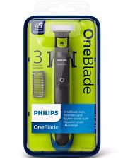 Philips QP2520/20 One Blade Rasierer, Bartschneider, abwaschbar NiMH Technologie