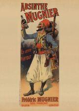 ABSINTHE MUNIER, France, 1895, 250gsm A3 Belle Epoque Poster