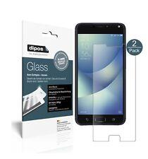 2x Asus Zenfone 4 Max 5,5 Zoll ZC554KL Protector de Pantalla Vidrio Flexible