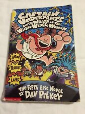 Captain Underpants and the Wrath of the Wicked Wedgie Woman book by Dav Pilkey