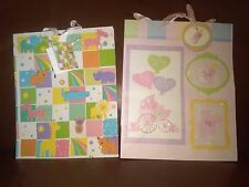 Baby Shower Gift Bags Set of 2