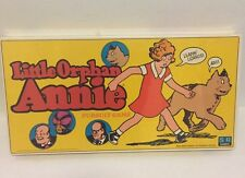 VINTAGE LITTLE ORPHAN ANNIE Board Game - S and R Games 1978