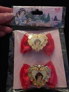 Disney Store Snow White Hair Accessory Clip/barrette - New