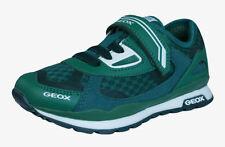 Scarpe sneakers con lacci verde per bambini dai 2 ai 16 anni
