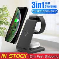 3 In 1 10W Wireless Charger Phone Smart Watch Charging Station For IPhone ONY