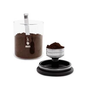 Bialetti Barattolo - Aufbewahrungsglas für gemahlenen Kaffee 2 tlg.- DCDESIGN08