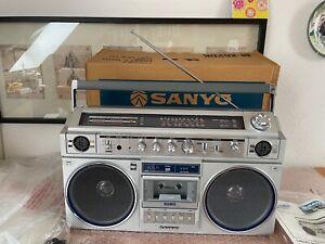SANYO M-X 620 K stereo boombox ghettoblsster ovp new
