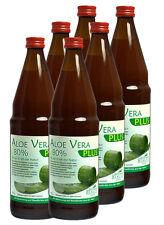 Aloe Vera Saft 80% plus Vitaminkomplex 6x750ml - ALOE Line - Aloe Vera Getränk