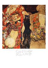 Gustav Klimt Die Braut Poster Kunstdruck Bild 70x50cm - Kostenloser Versand