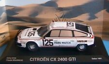 CITROEN CX 2400 GTI #125 RALLYE PARIS DAKAR 1981 NOREV 159007 1/43 ICKX BRASSEUR