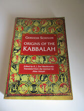 Gershom Scholem Origins of the Kabbalah Edited by R. J. Zwi Werblowsky transled