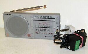 Vintage Sony ICF-35 FM MW SW LW Shortwave Radio