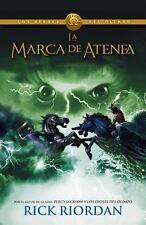 La marca de Atenea: Los heroes del Olimpo 3 (Spanish Edition)-ExLibrary