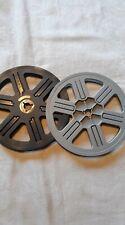Super 8  Leerspule Filmspule Selbstfangspule Revue  90 Meter  2 Stück !