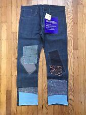NWT Junya Watanable Comme des Garcons MAN Patchwork Knee Cap Jeans - Size M