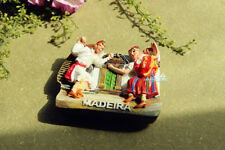 Portugal Madeira Folk Dance Tourist Travel Souvenir 3D Resin Fridge Magnet Craft