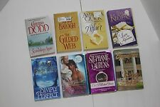 Large Lot of 8 Historical Romance Novels/ Books Christina Dodd Stephanie Laurens