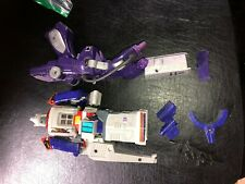 TRANSFORMERS G1 SHOCKWAVE & GALVATRON BOTH FULLY FUNCTIONAL