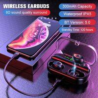 2019 TWS Bluetooth 5.0 Headset Wireless Earphones Mini Stereo Headphones Earbuds