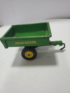 Vintage ERTL John Deere 542-6511 Dump Cart Trailer 1/16