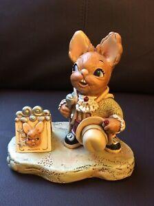 Pendelfin Rabbit Gentleman Jack 1999 Event Piece No 6