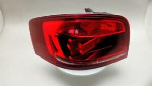 2011 Audi A3 2008 To 2013 3 Door Hatchback N/S Passenger Rear Lamp Tail Light LH