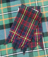 New Men's Kilt Sock Flashes Cameron of Erracht Tartan/Highland Kilt Flashes/KILT