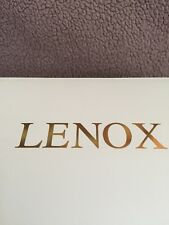 "Lenox ""My Snow Boy� Chime Ornament New In Box"