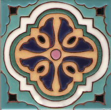 "California Malibu Tile Reproduction ~ Hannini A 6""x6"""
