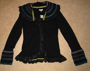 Cache Decorative short jacket    NWT Size Large