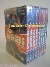 THE NEW AVENGERS '76 & '77 British TV Series (8-DVD Set, Region 1) NEW & SEALED!