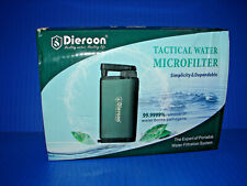 Tactical Water Filter Straw Purification System Pathogens Removal *BRAND NEW* ^^