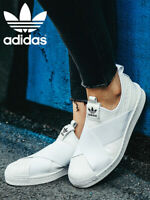 Baskets Adidas Originals Superstar Slip-On Sneakers S81338 / Eu 36 US 5 Blanc