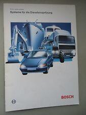 Systeme für die Dieseleinspritzung Bosch