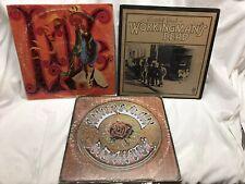 Grateful Dead 4 Vinyl Lp Lot: Live Dead Workingman's Dead American Beauty