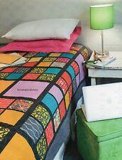Modern Dorm Quilt Pattern Pieced DD