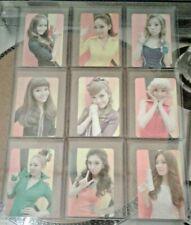 SNSD Hoot All 9 Photocards Set OT9 Girls' Generation Taeyeon Sooyoung Rare Kpop