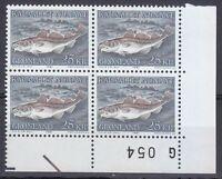 Greenland 1981 Mi 129 Sc 140 MNH Greenland Codfish Gadus Ogac Cod fish 09