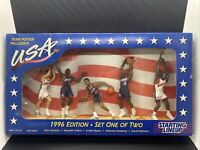 1996 Starting Lineup USA Men's Basketball Figurines, New In Box
