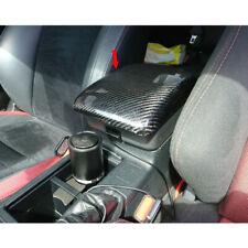 Carbon Fiber For Subaru WRX STI 4DR Interior Central Console Box Cover Trim 2017