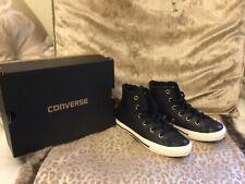 Converse Black Trainer Boots. Size C12. Brandnew