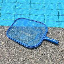 Professional Leaf Rake Mesh Frame Net Skimmer Cleaner Swimming Pool Spa Tool BU