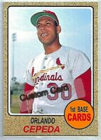 FRED WHITFIELD CINCINNATI REDS 1968 STYLE CUSTOM MADE BASEBALL CARD BLANK BACK