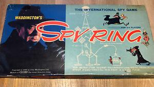 Vintage Spy Ring Board Game -  Waddingtons - 1965 - 99% Complete & Original