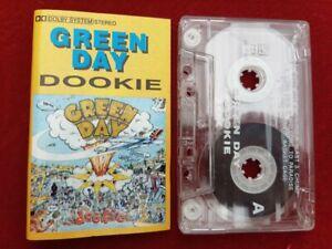 Green Day Dookie 1994 RARE Cassette Tape M Records Alternative Punk Rock