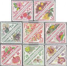 cameroun p35-p50 Couples neuf avec gomme originale 1963 Fleurs