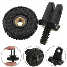 "Mini 1/4"" Monopod Tripod Mount Adapter with Screw Thread For GoPro Hero 1 2 3"
