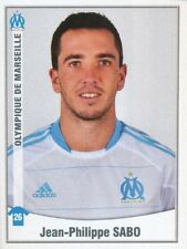247 JEAN-PHILIPPE SABO ROOKIE OLYMPIQUE MARSEILLE OM STICKER FOOT 2011 PANINI