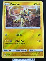 Carte Pokemon ZERAORA 52/181 Holo REVERSE Soleil et Lune 9 SL9 FR NEUF